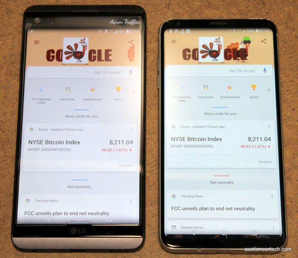 LG V20 vs V30
