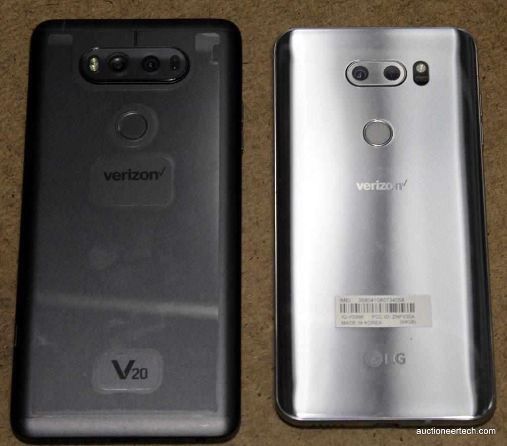 LG V20 and V30 backs