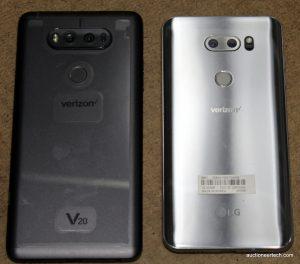 V20 and V30 backs